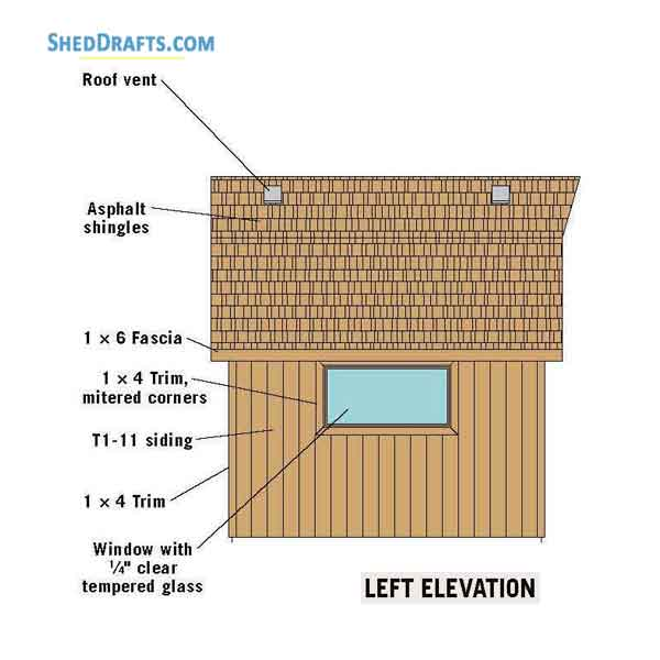 How To Build A 12x12 Gambrel Shed 12x12 Barn Shed Plans