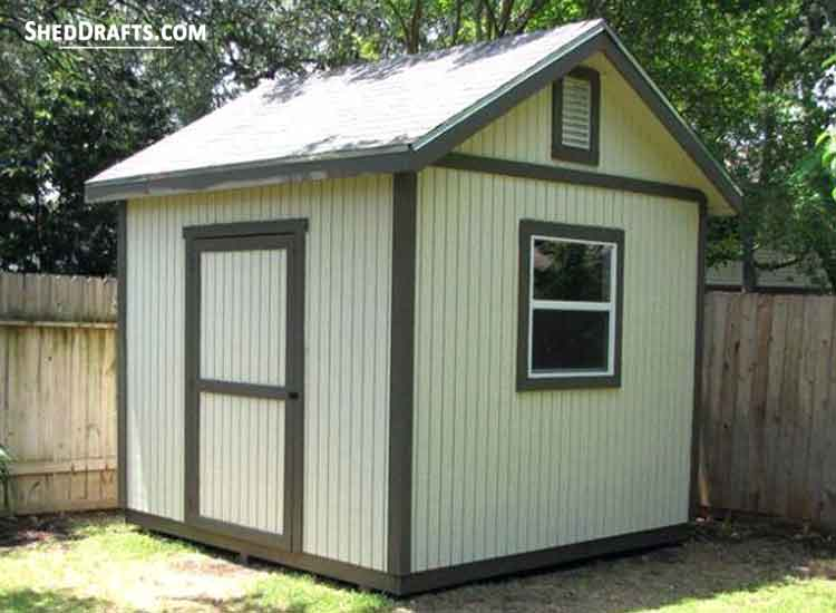 6×8 Tool Storage Shed Plans Blueprints To Design Lovely Shed
