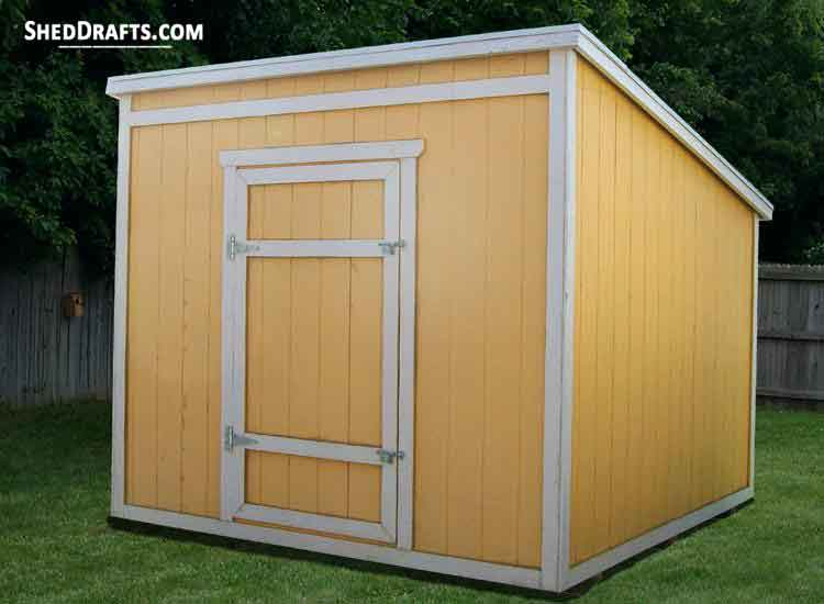Charmant 8x8 Lean To Storage Shed Plans Blueprints