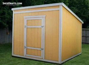 Diy Shed Building Plans Blueprints For Wooden Storage Buildings
